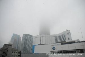 雪 ランドマークタワー