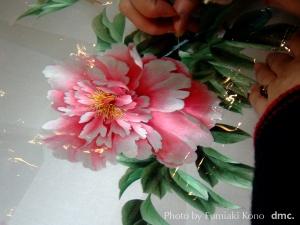 中国刺繍 手仕事