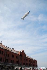 飛行船 赤煉瓦倉庫