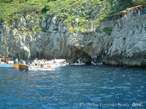 青の洞窟 入り口