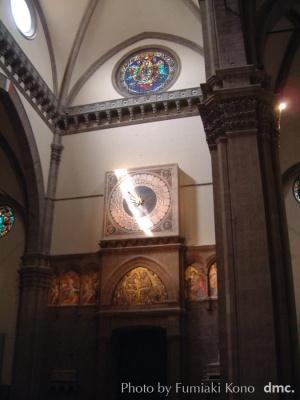 古い時計 イタリア・フィレンツェ