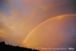 二重の虹 長野