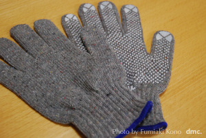 特殊紡績手袋 よみがえり 新製品の滑止付