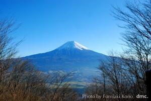 富士山 長者岳山頂から