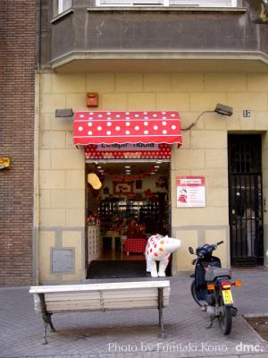 バルセロナのお店