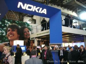2006 3GSM NOKIAブース