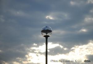 球状の街灯