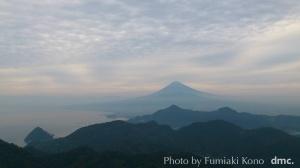 富士山 かつらぎ山山頂