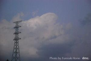 架線前の鉄塔