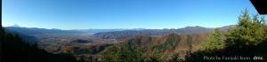 パノラマ 小倉山から