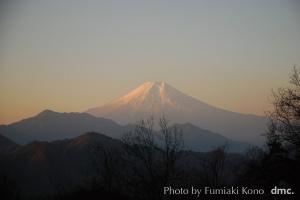 2012.1.4 早朝の富士山
