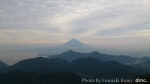 富士山 葛城山から