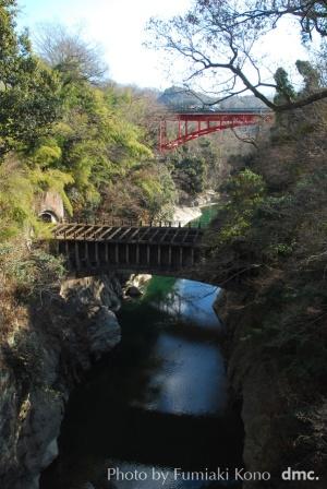 甲斐の猿橋