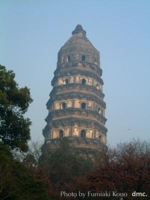 蘇州  虎丘の斜塔