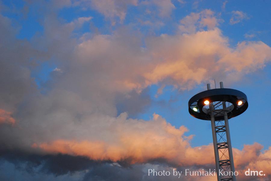 桜木町の雲