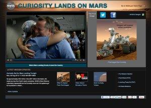 感激の瞬間 NASA - Mars