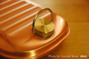 純銅の湯たんぽ